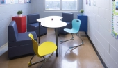 Ven-Rez Seating & Puddle Table - Brookside Jr. High School