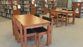 First floor reading area