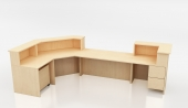 Ven-Rez Custom Library Circulation Desk