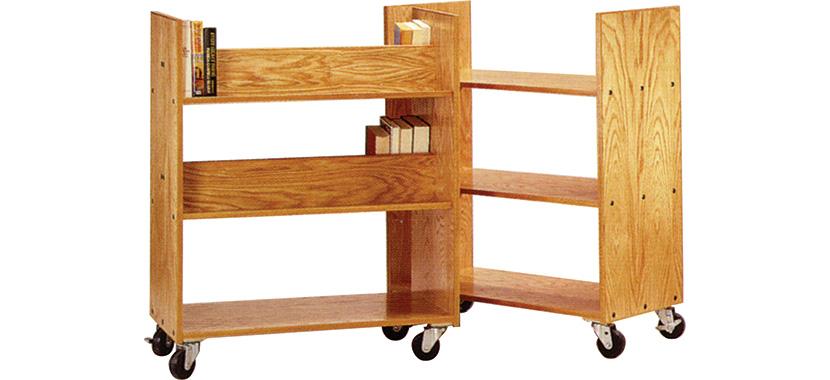 Horizon Wooden Book Trucks (Library) 830x380