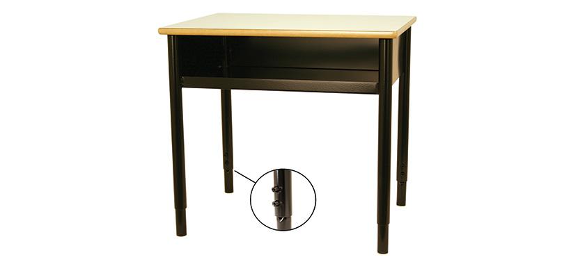 Horizon Adjustable Open Front Desk (Classroom)