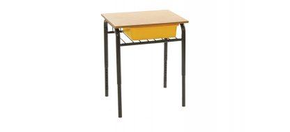 Horizon Wire Bookshelf Desk with Tote Box (Classroom)
