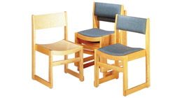 Prado Stackable Chairs -feature