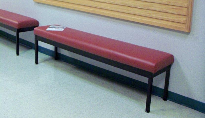 CNA 11 series bench foam top -slide