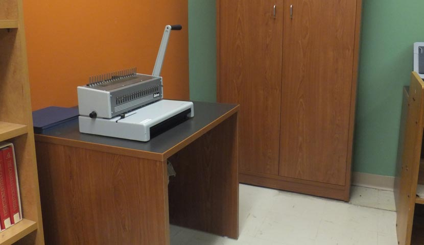 CNA Circ Desk Component -slide