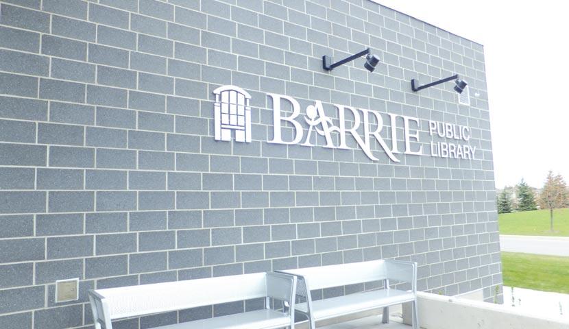 Barrie Public Library Main Entrance