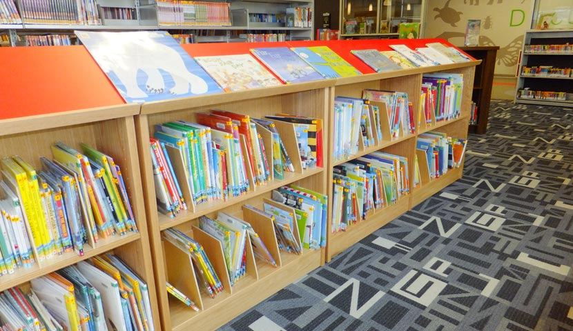 Barrie Public Library Picture Book Display