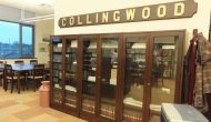 Collingwood Public Library Glass Display