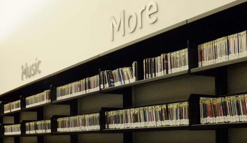 Collingwood Public Library Media Section