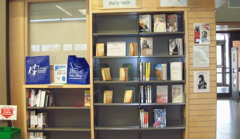 Cookstown Public Library Wall Display 3