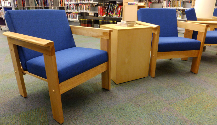Essa Public Library Lounge Seating