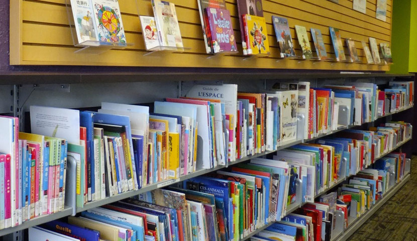 TPL Northern District Picture Book shelving and display