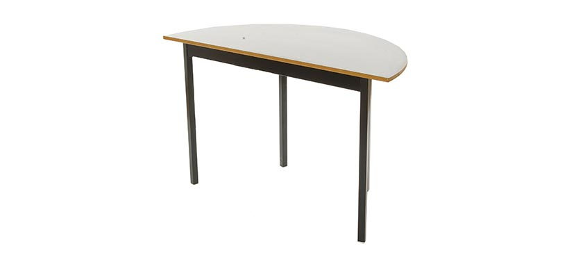 horizon 11 series half round table