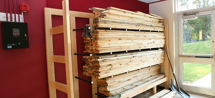 Lumber Yard Storage Racks Photos