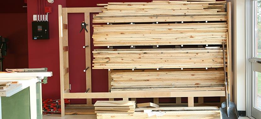 Industrial Lumber Storage Rack Ven Rez, Wood Storage Racks