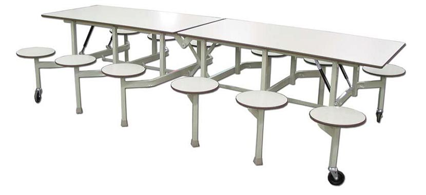 Great Bench Cafeteria Tables