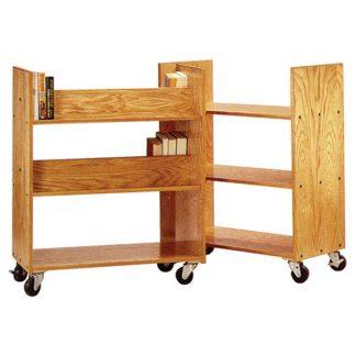 Horizon Wooden Book Trucks