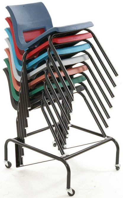 Horizon Chair Dolly with Chairs