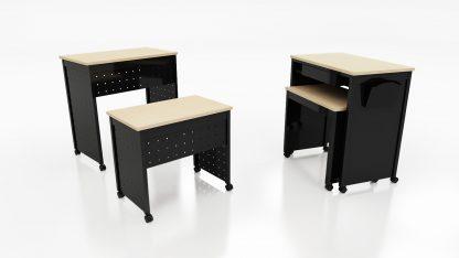 Ven-Rez Nesting Teacher's Desk